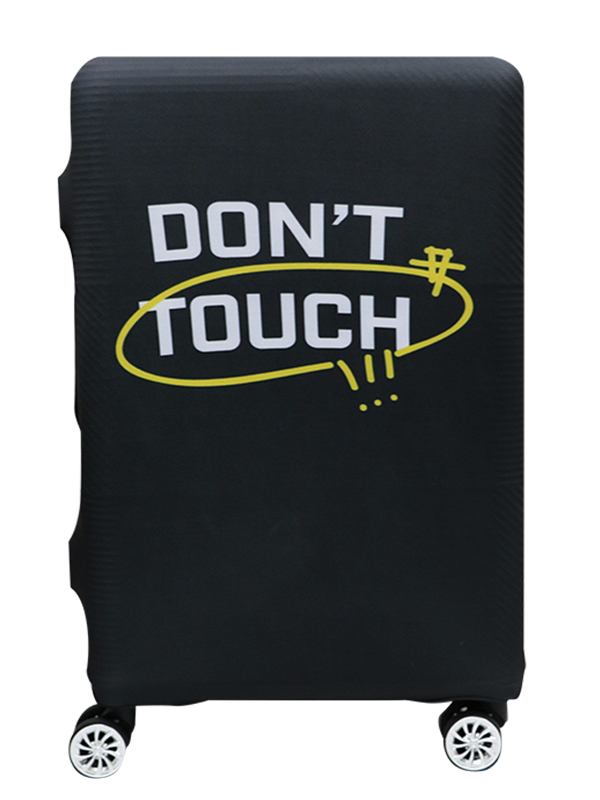 Don't Touch Printed Luggage Cover