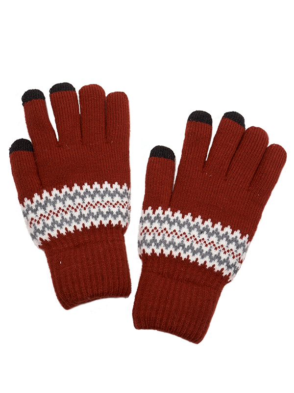 TOUCH SCREEN KNIT GLOVES