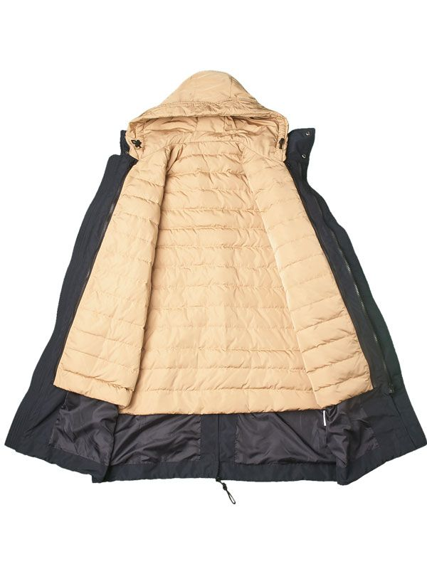 3 IN 1 INTERCHANGABLE DOWN JACKET