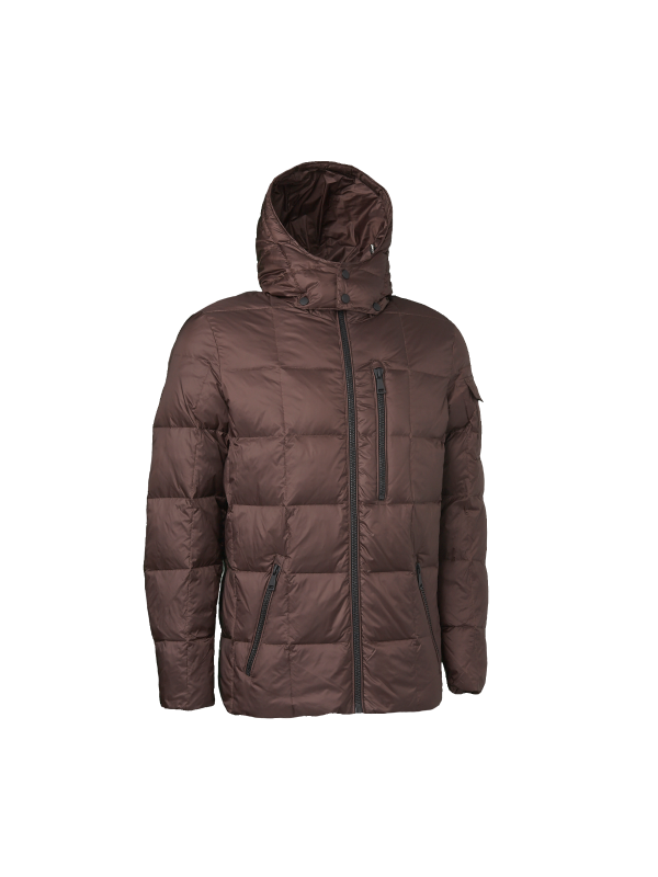 SUPERIOR LIGHTWEIGHT DOWN JACKET WITH HOOD