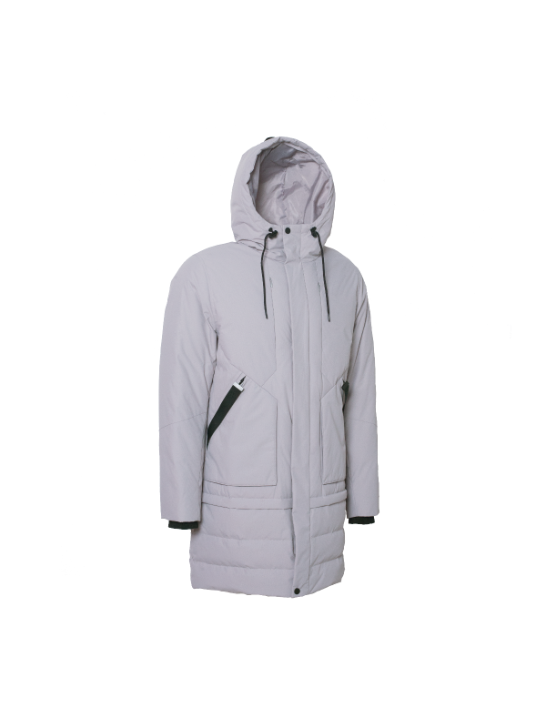 REFLECTIVE DOWN JACKET WITH HOOD