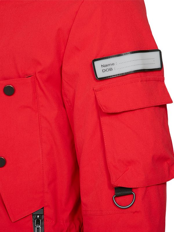 ACTIVE DOWN PARKA JACKET WITH CONTRAST LINING