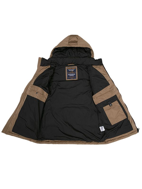 FITTED CLASSIC DOWN PARKA JACKET