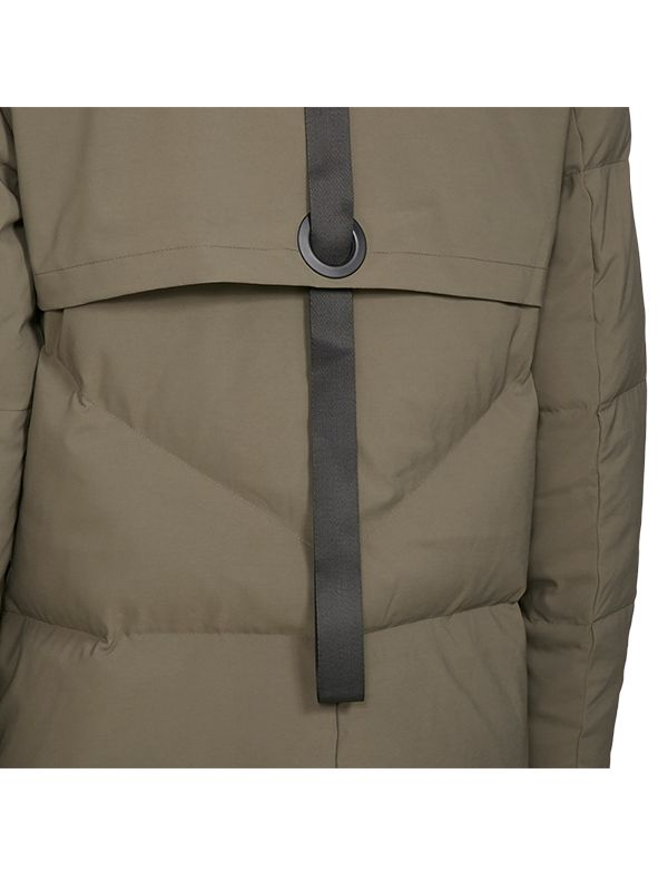 FITTED TRENDY DOWN JACKET