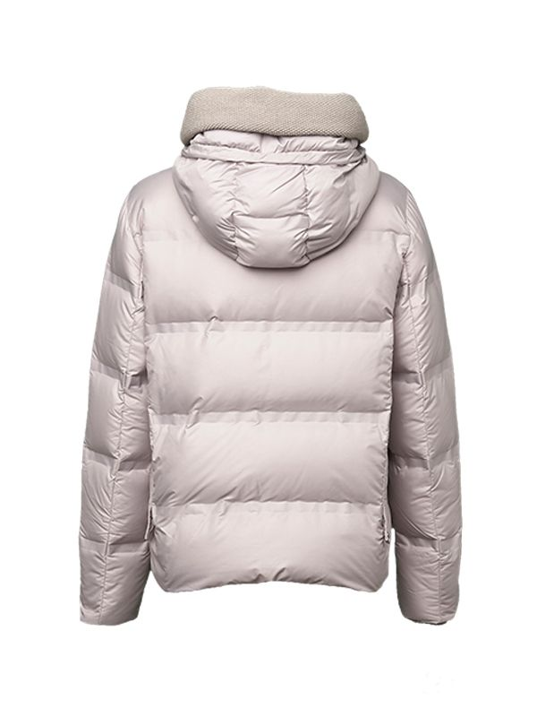 HEATSEALED CROPPED DOWN JACKET