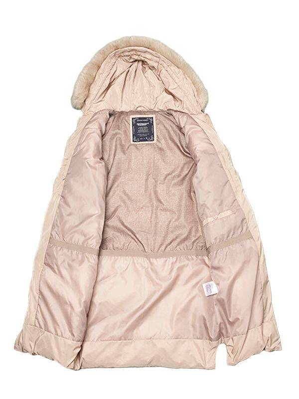 MULTI-QUILTED DESIGN DOWN JACKET