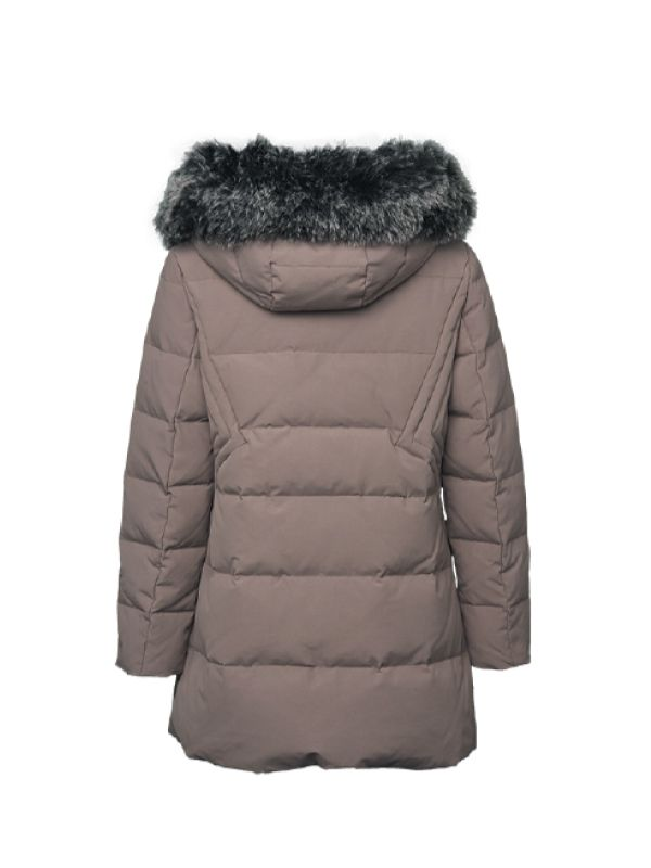 UNIQUE STITCH DESIGN DOWN JACKET
