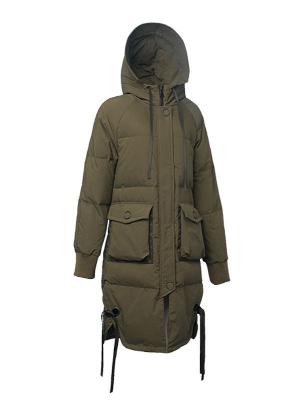 OVERSIZE FULL-LENGTH DOWN JACKET