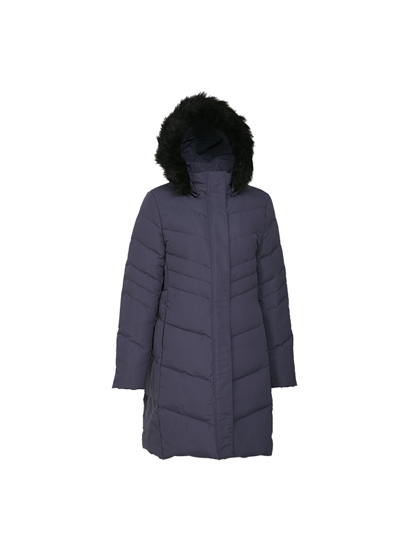 CLASSIC DOWN PARKA JACKET WITH CONTRAST LINING