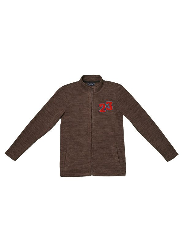 "KIDS ""23"" PATCH FLEECE JACKET"