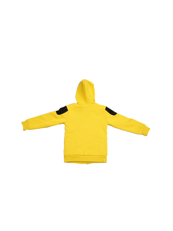 "KIDS ""LOOK"" FLEECE JACKET WITH HOOD"