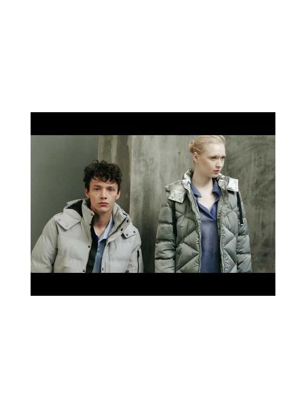 CLASSIC PADDED JACKET WITH WEBBING STORM FLAP