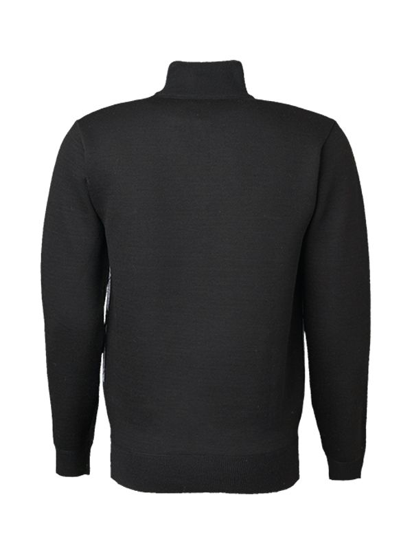 CLASSIC HENLEY KNITTED SWEATER