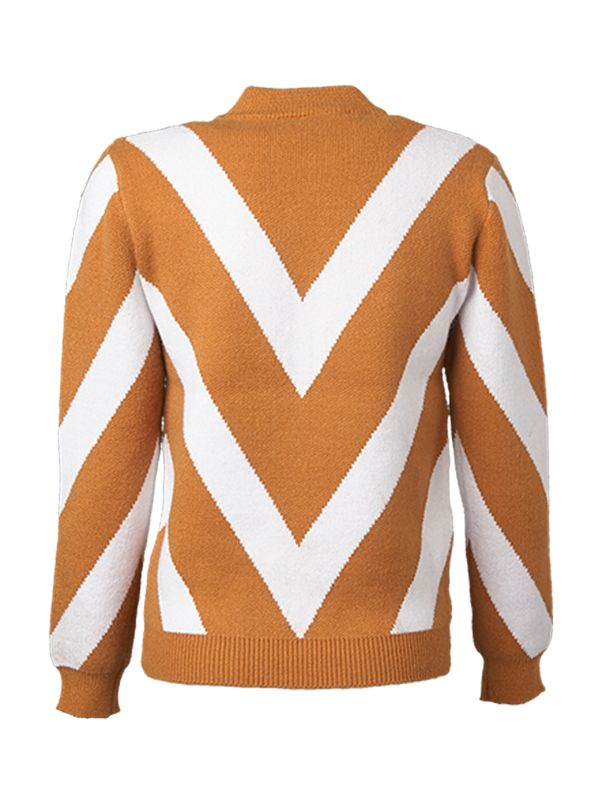 CHEVRON KNITTED SWEATER