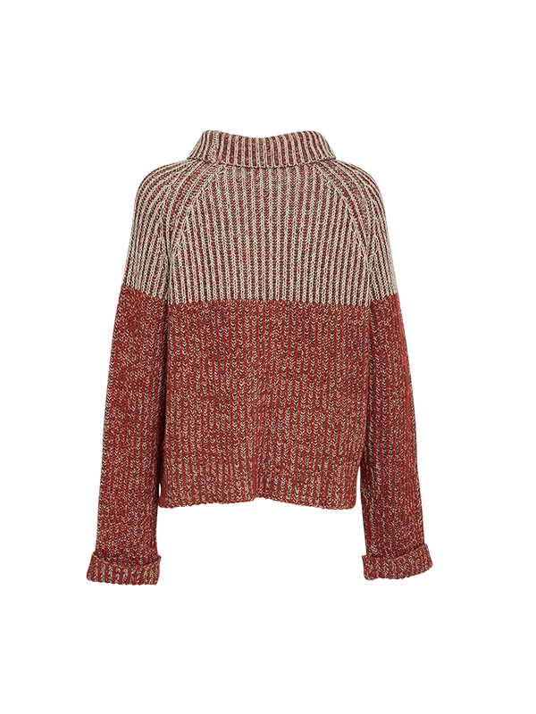 TURTLENECK KNITTED SWEATER
