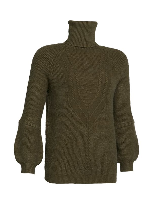TRUTLENECK KNITTED SWEATER