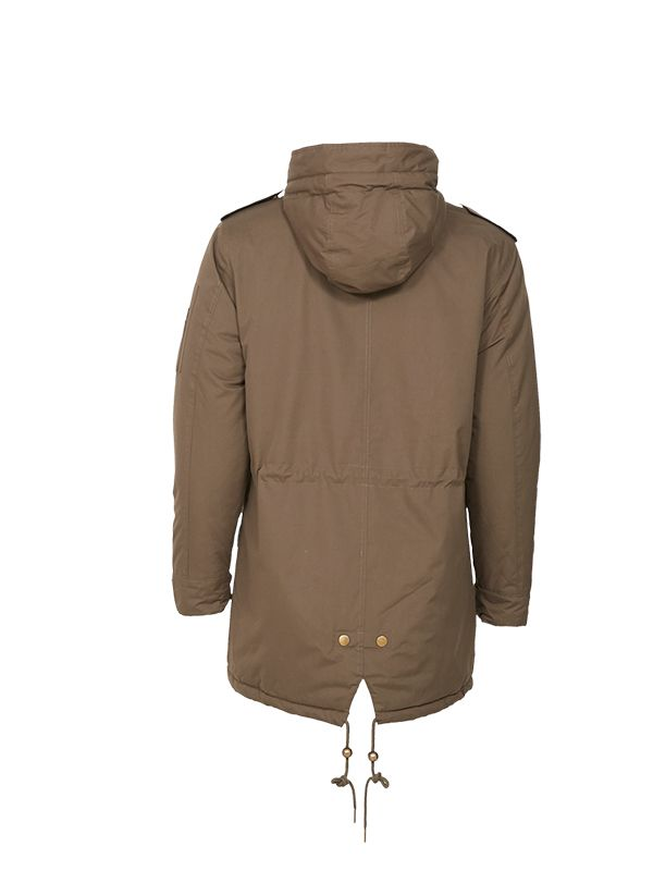 SHERPA FLEECE PUFFER JACKET