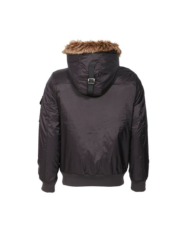 OVERSIZED POCKET BOMBER PADDED JACKET