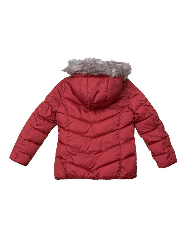 GIRL PADDED JACKET RED