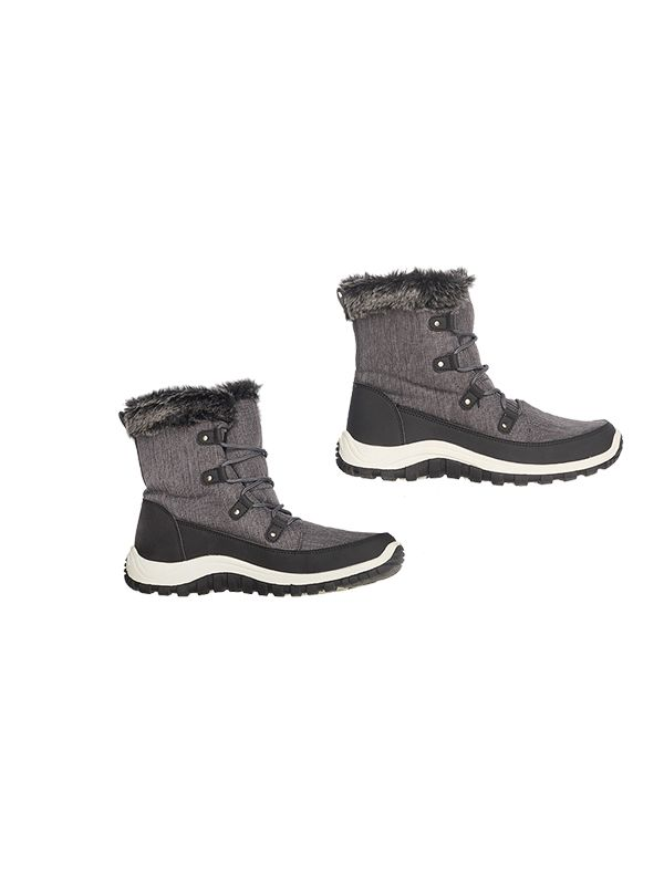 MID-LENGTH SNOW BOOTS