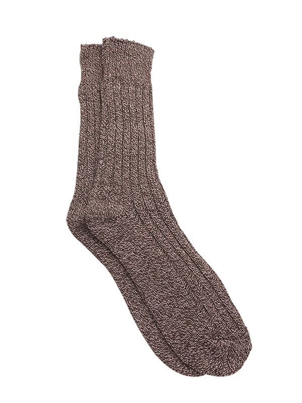 ADULT UNISEX CABLE KNIT SOCKS