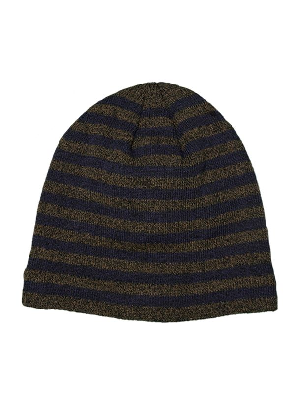 UNISEX STRIPES KNITTED HAT