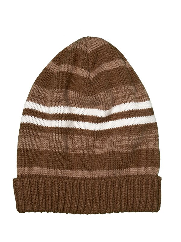 UNISEX STIPES KNITTED HAT