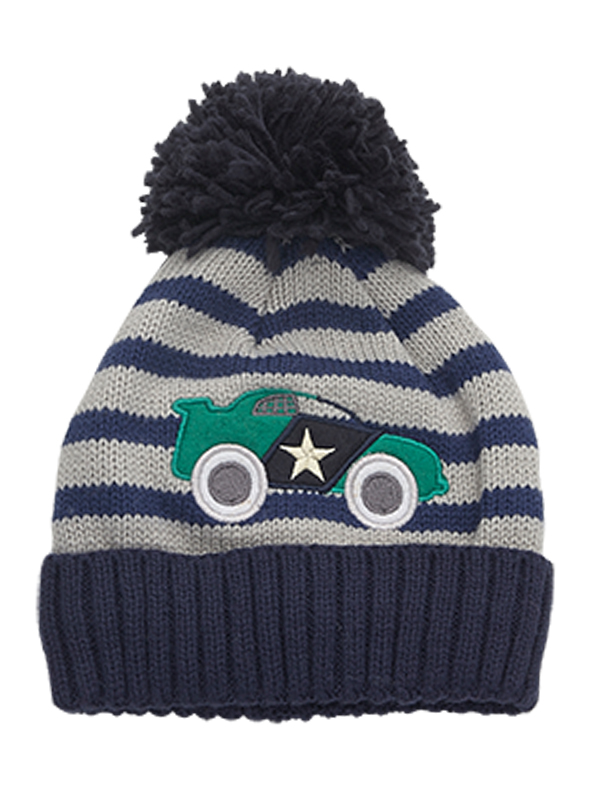 c48d3fe4743 BOY S CARTOON CAR KNITTED HAT
