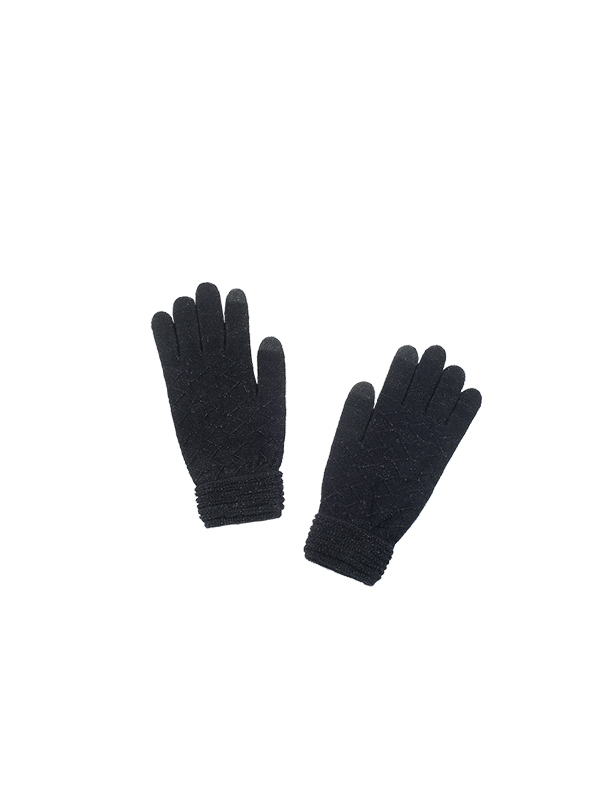 LUREX KNITTED GLOVES