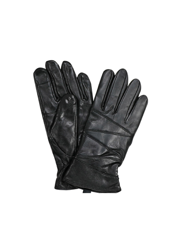 WOMEN LEATHER GLOVES WITH FUR LINING