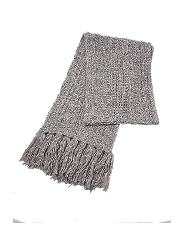 UNISEX CABLE KNIT SCARF