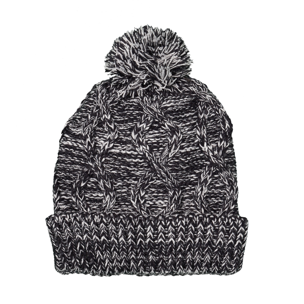 UNISEX MIXED YARN KNITTED HAT