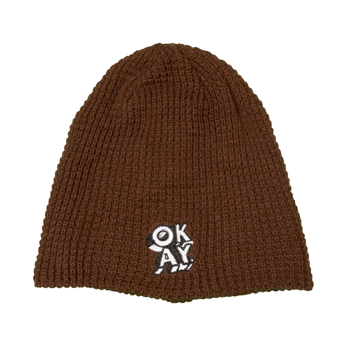 UNISEX PATCH KNITTED HAT