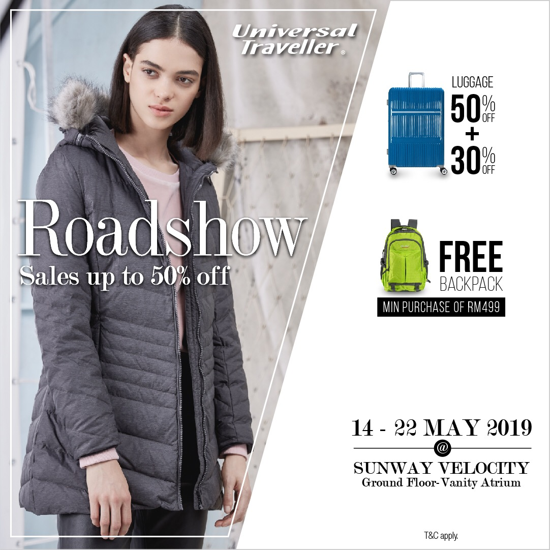 Universal Traveller Road Show at Sunway Velocity
