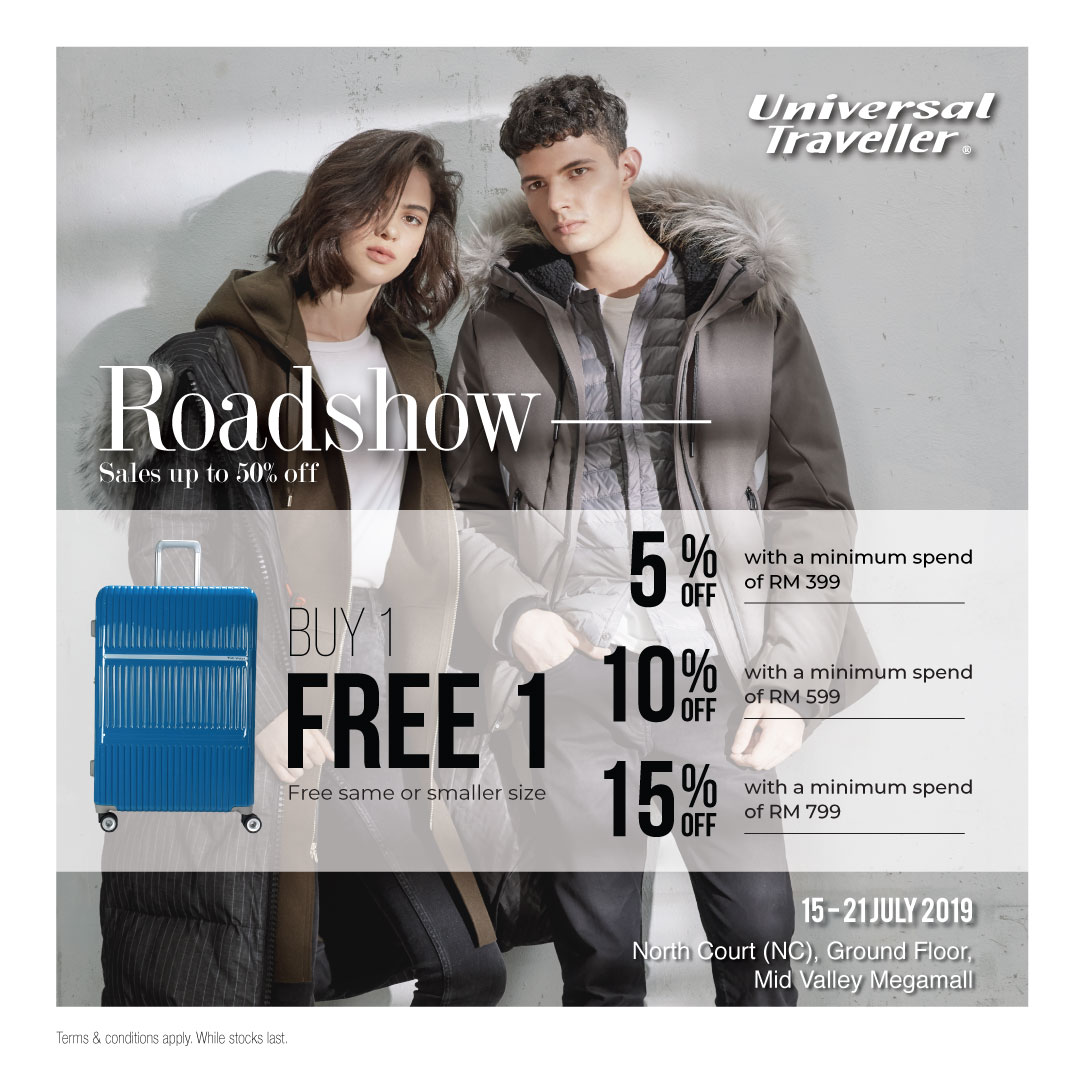 Universal Traveller Road Show at Mid Valley