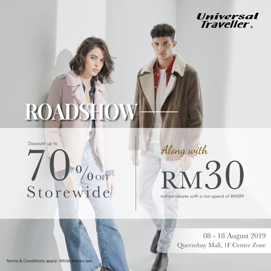 Universal Traveller Road Show at Queensbay Mall