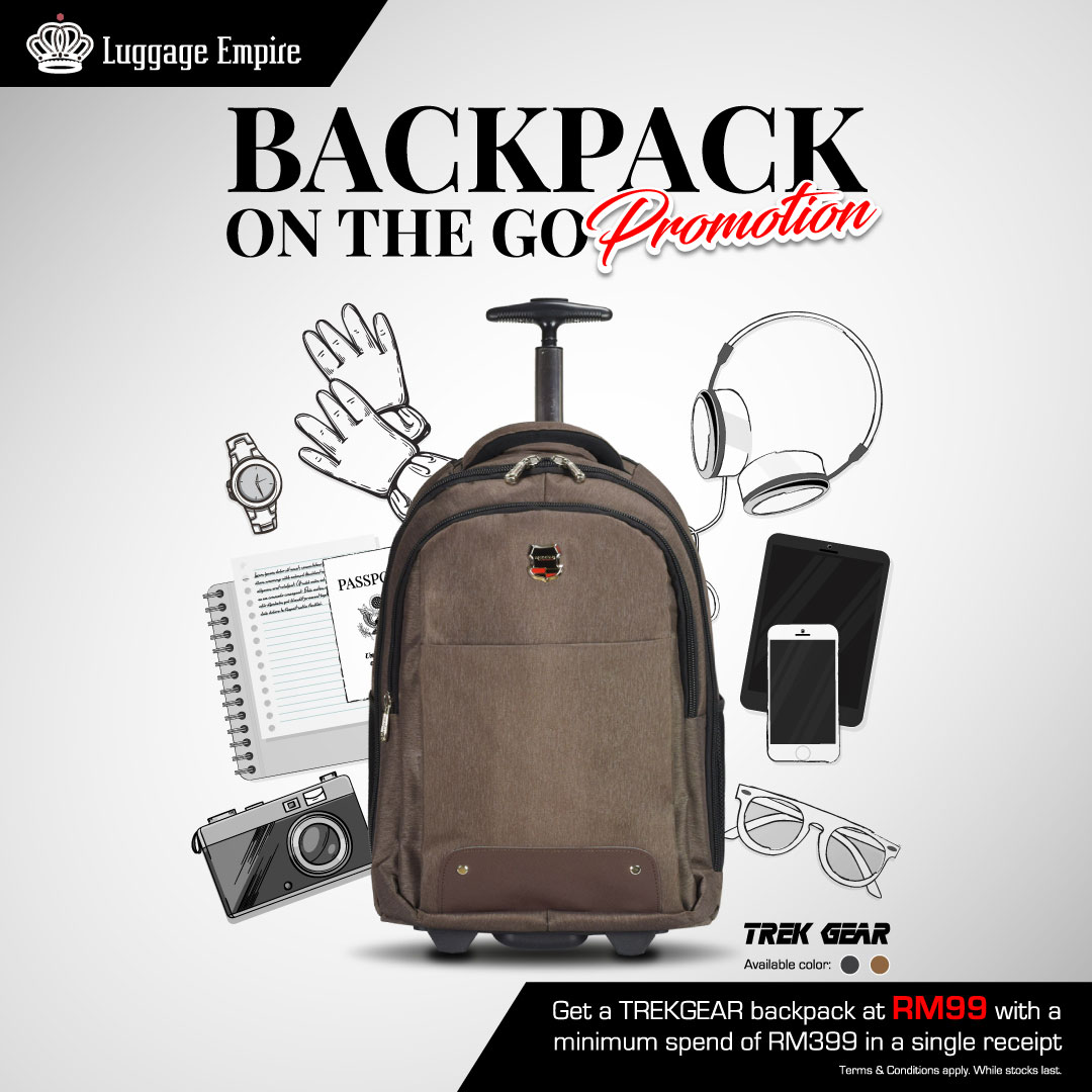 Backpack on-the-go