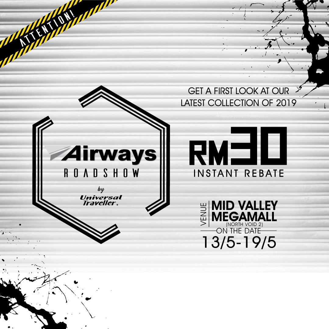 Airways Road Show at Mid Valley Megamall