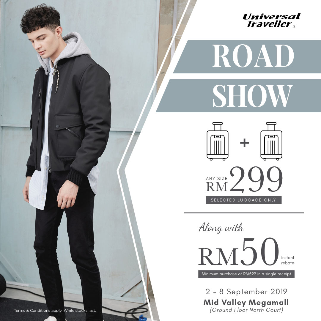 Universal Traveller Road Show at Mid Valley Megamall