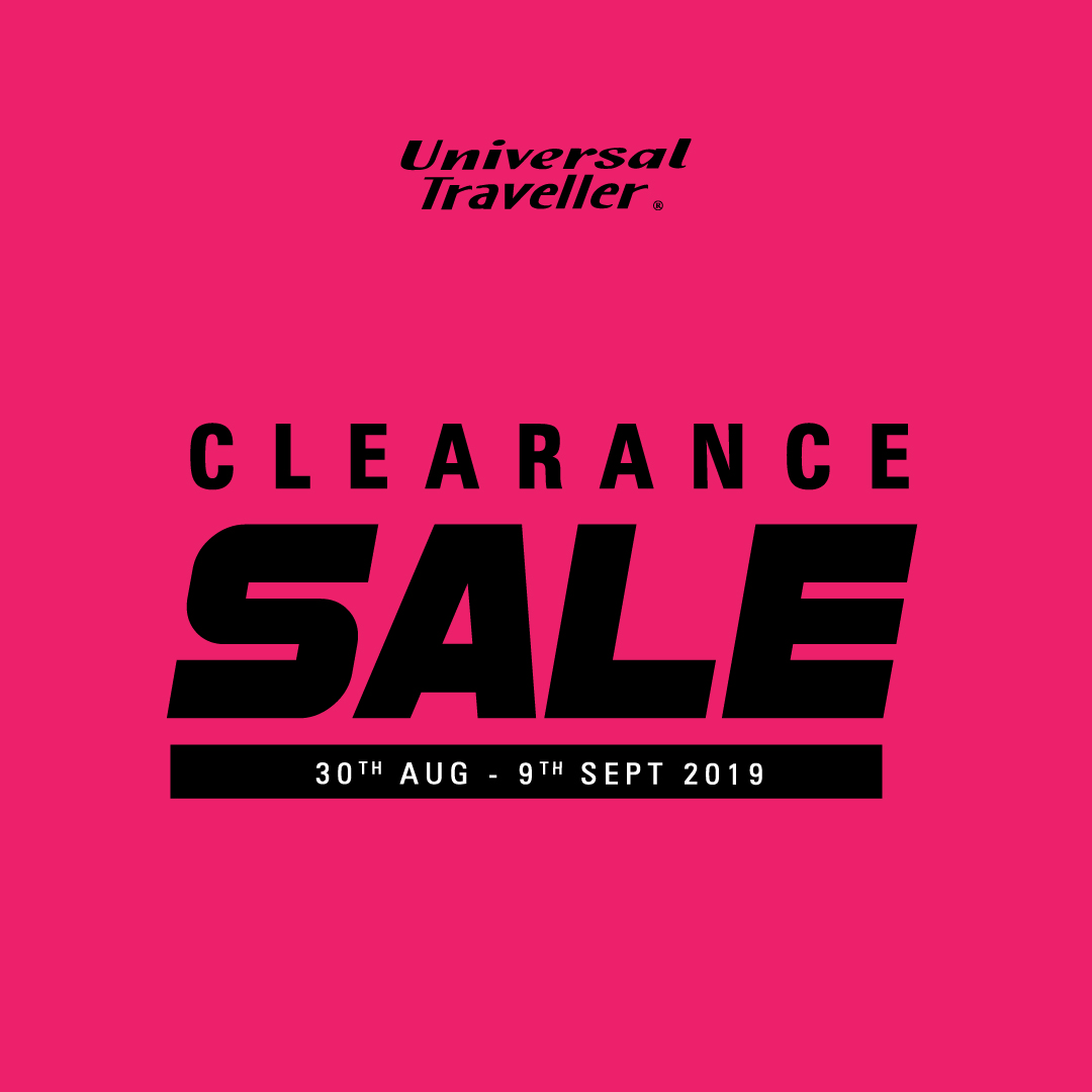 Universal Traveller Clearance Sale Up to 70%!