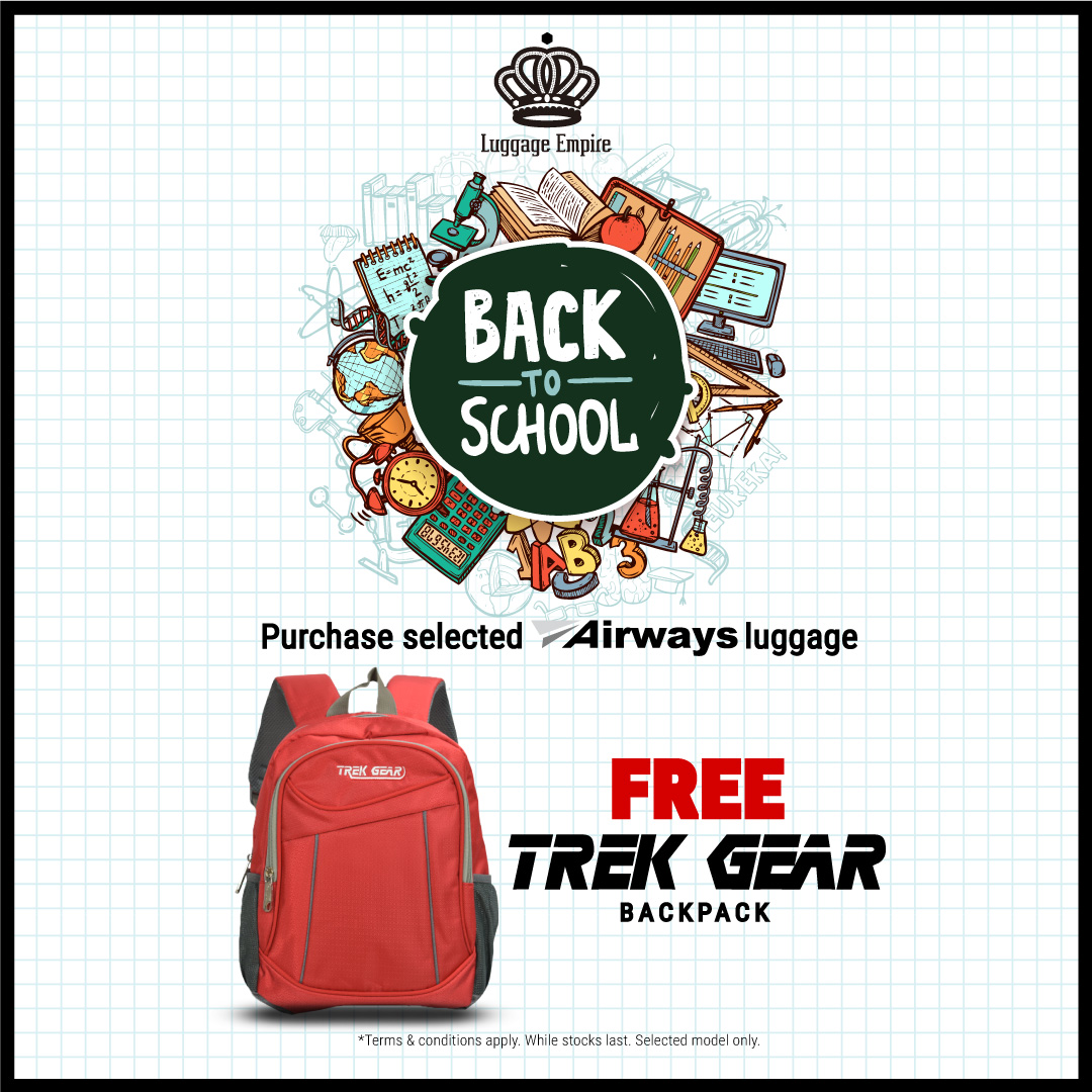 Back-to-school at Luggage Empire