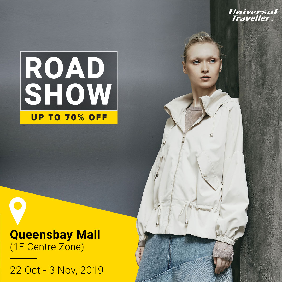 Universal Traveller's Roadshow at Queensbay Mall, Penang